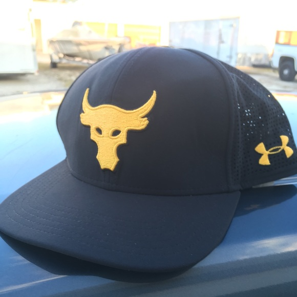 Project rock SnapBack under armour. M 5adfed3d1dffdafced064445 5887193ced5